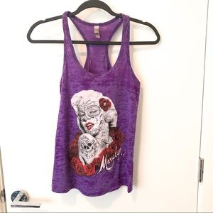 🎁4 for 20$🎁 Marilyn Monroe graphic tank top